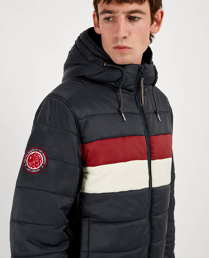 Quilted Jacket - QUILTED-HOODED