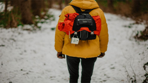 An Insulated Down Jacket